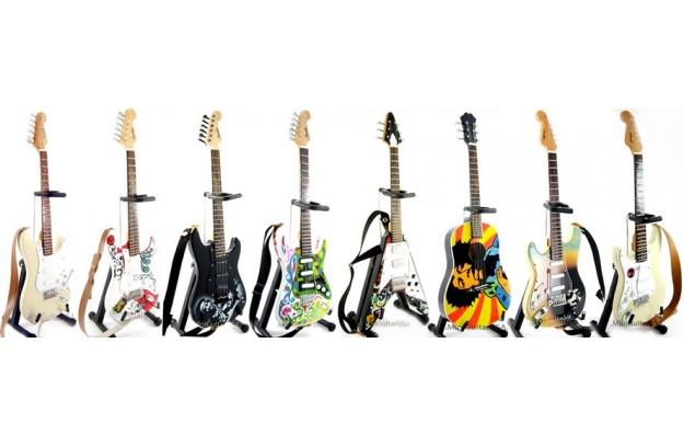miniature chitarre
