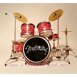 METALLICA drum set