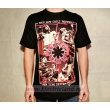 T-Shirt MUSIC Red Hot Chili Peppers rhcp Taglie:  L maglietta colore nero